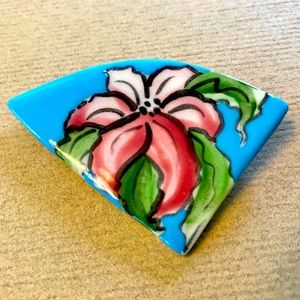 Hand Painted Pin
